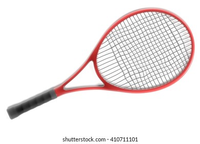 3d renderings of tennis racket
