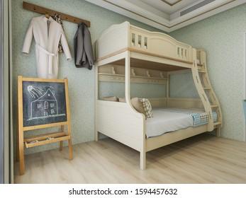Bunk Bed Desk Images Stock Photos Vectors Shutterstock