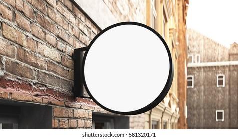 3D rendreing of signboard