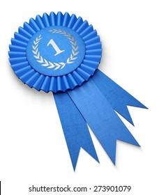 3D. Ribbon, Award, First Place.