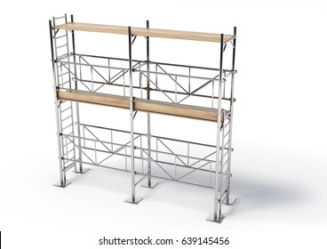 3D Scaffold  A illustration scaffold made in 3d.