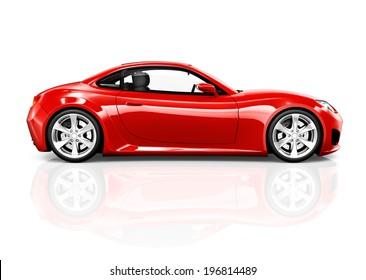3D Sports Car