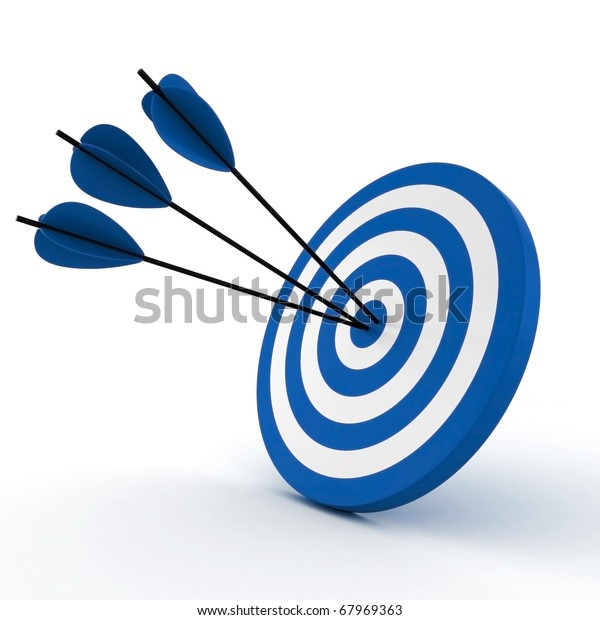 3d-target-arrows-isolated-on-600w-679693