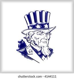 3d Uncle Sam