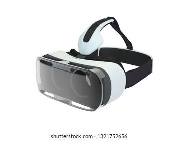 3D VR-Glasses isolated, 3D Illustration