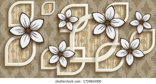 3d Wallpaper Decoration High Res Stock Images Shutterstock