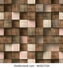 3d wooden pattern, seamless
