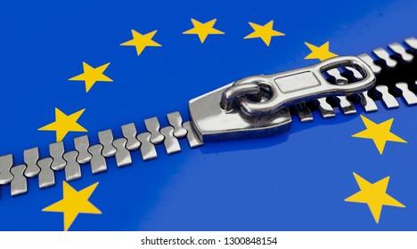 3D-illustration, European cohesion