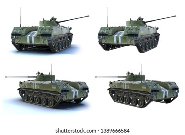 3d-renders of BMD-2 of Armed Forces of Ukraine. Airborne infantry fighting vehicle