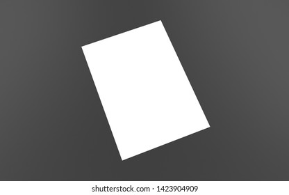 3g render a4 a3 a2 a5 a6 a1 paper. Book. Catalog Blank White Cover template for your design. Mock up