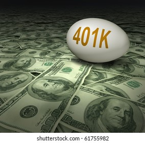 401k retirement savings dollars financial planning