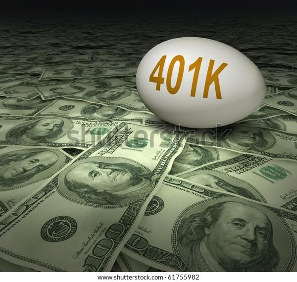 401k retirement savings dollars financial planning