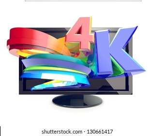 4-K TV ultra high definition television,