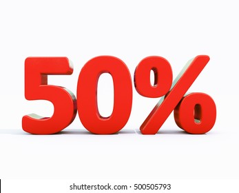 50 Percent Discount 3d Sign on White Background, Special Offer 50% Discount Tag, Sale Up to 50 Percent Off, Sale Symbol, Special Offer Label, Sticker, Tag, Banner, Advertising, Badge, Emblem, Web Icon
