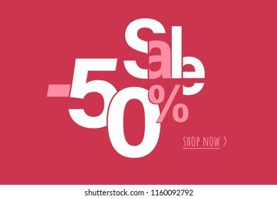 50% sale shop now