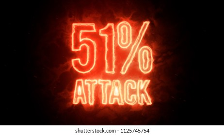 51% attack on blockchain