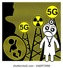 5G technology and health hazards. The unborn babies are at risk due to the ultra high radio frequencies of the cell towers
