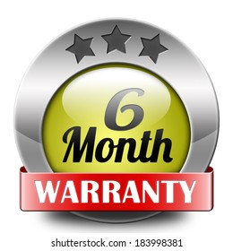 6 month warranty top quality product six months assurance and replacement best top quality guarantee guaranteed commitment