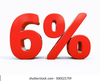 6 Percent Discount 3d Sign on White Background, Special Offer 6% Discount Tag, Sale Up to 6 Percent Off, Sale Symbol, Special Offer Label, Sticker, Tag, Banner, Advertising, Badge, Emblem, Web Icon