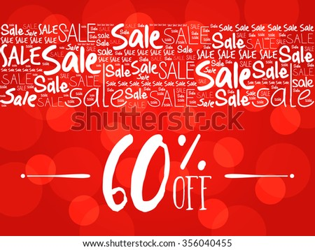 6a5e62548 60 OFF Sale Word Cloud Background Stock Illustration 356040455 ...