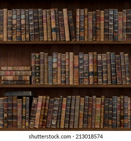 8 of 15 Old books seamless texture (vertically and horizontally). Bookshelf Background. Also tiled with other 15 textures from same pack in my gallery.