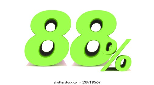 88 Percent off 3d Sign on White Background, Special Offer 88% Discount Tag, Sale Up to 88 Percent Off,big offer, Sale, Special Offer Label, Sticker, Tag, Banner, Advertising, offer Icon