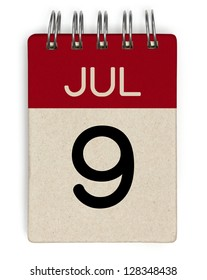 9 july calendar