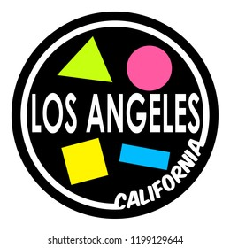 90's Los Angeles Tee Shirts Designs