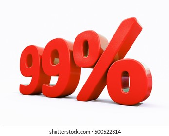 99 Percent Discount 3d Sign on White Background, Special Offer 99% Discount Tag, Sale Up to 99 Percent Off, Sale Symbol, Special Offer Label, Sticker, Tag, Banner, Advertising, Badge, Emblem, Web Icon
