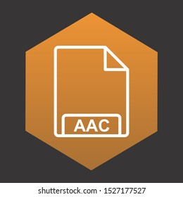 AAC Icon For Your Design,websites and projects.