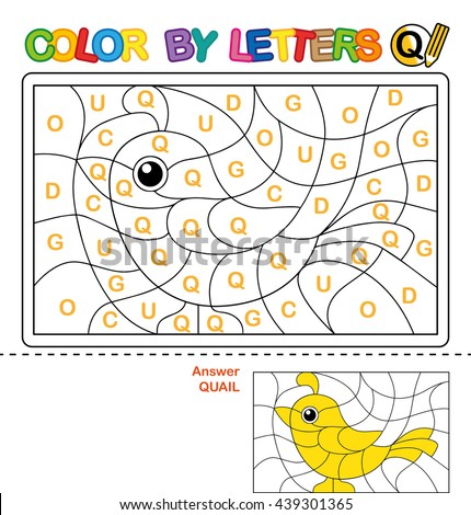 ABC Coloring Book Kids Color By Stockillustration 439301365 ...