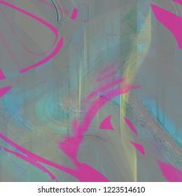 Abnormal background and weird texture pattern design artwork.