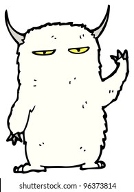 abominable snowman cartoon