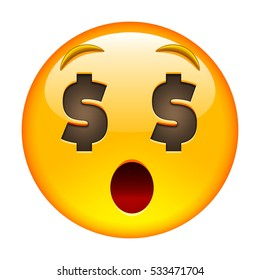 Clipart of a Happy Emoticon Smiley Wearing a Christmas ... |Smiley Face Holding Money
