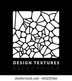 Abstact voronoi design background