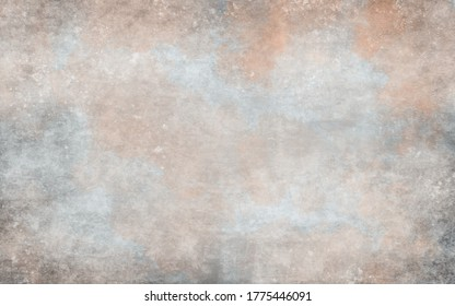 Abstarct background for portrait, food photography. Panoramic studio backdrop. Artistic banner, texture and grunge graphic design. Free copy space. Floating frame.