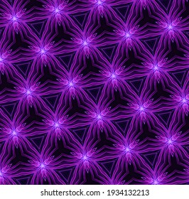 Abstract 3D Illustration of Modern Pattern