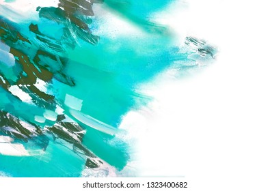Abstract Acrylic Painting. Artistic Background.