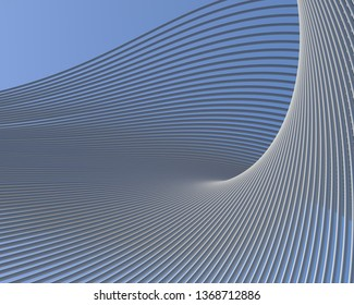 Abstract architectural shapes. Beautiful  background