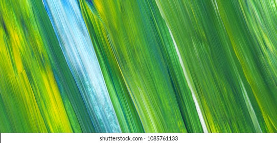 Abstract art background, color texture. Green acrylic painting with brush stroke texture. Modern art, contemporary art.