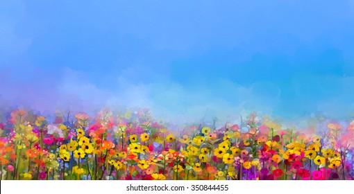 Original Watercolor Flower Illustration Blue Flower Artwork Blue Cornflower Painting Blue Cornflower Painting Wild Flowers