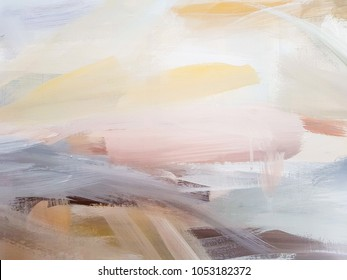 Abstract art painting background. Modern art