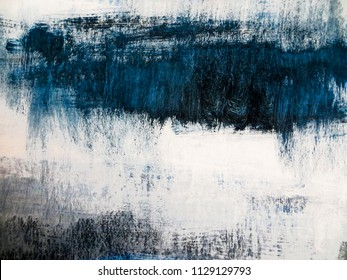 Abstract art painting background. Modern artwork. Contemporary art.