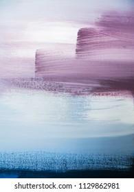 Abstract art painting. Modern artwork backgound.