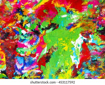abstract background acrylic of arts paint effect