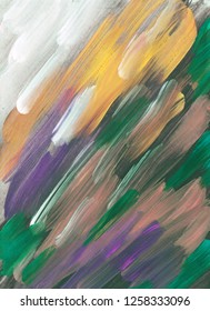Abstract background with acrylic smears.