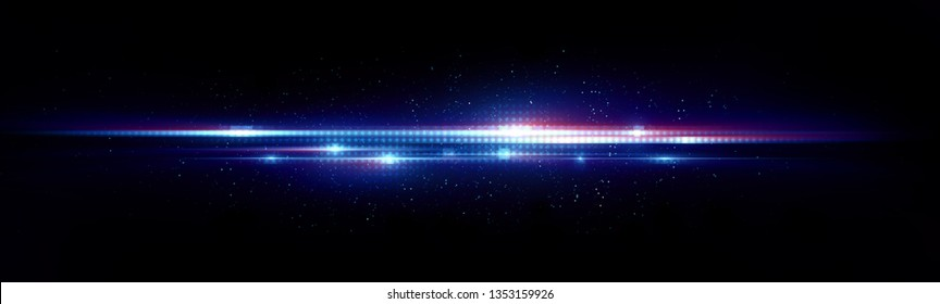 Abstract background. Beautiful light. Magic sparks. 