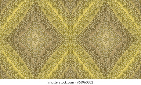 Abstract Background In Beige Tones Is Computer Graphics And Can Be Used The Design Of