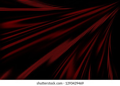 Abstract background. Black and red geometric pattern with lines