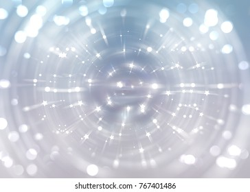 Abstract background blue light circle. Illustration for design.